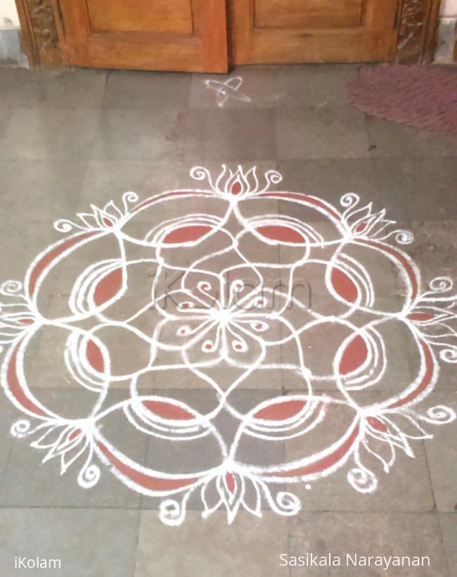 Rangoli: aadi amavasai