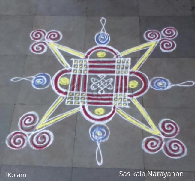 Rangoli: Shivarathri