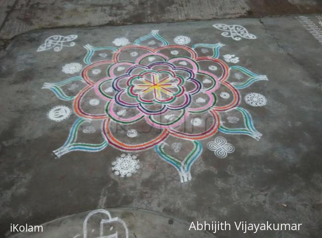 Rangoli: Tamil New Year