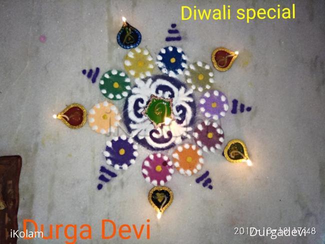 Rangoli: Diwali special rangoli 2 by DD