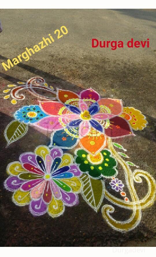 Rangoli: Marghazhi  kolam 20