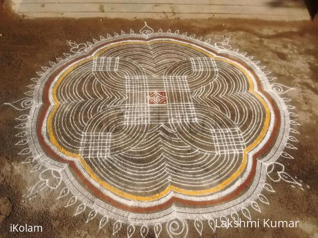 Rangoli: Kanyaa Kolam