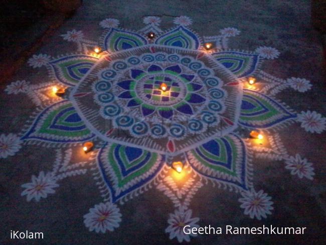 Rangoli: Happy Diwali!!
