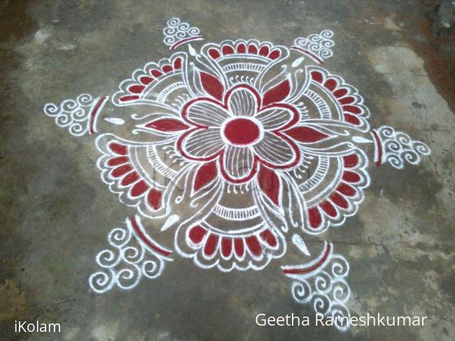 Rangoli: Friday kolam!!