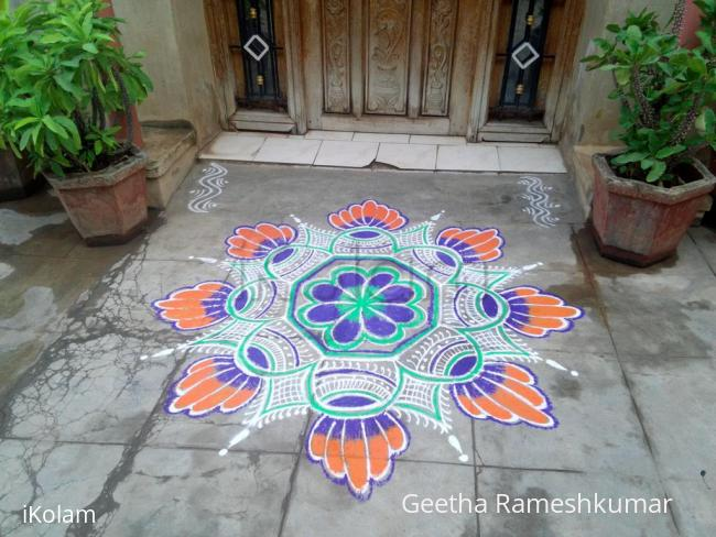 Rangoli: Happy Diwali Friends!!