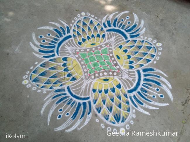 Rangoli: my daily kolam!