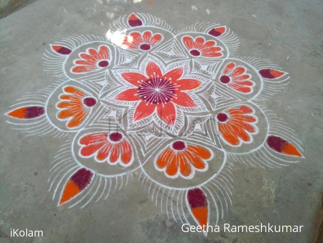 Rangoli: welcome Aadi!!