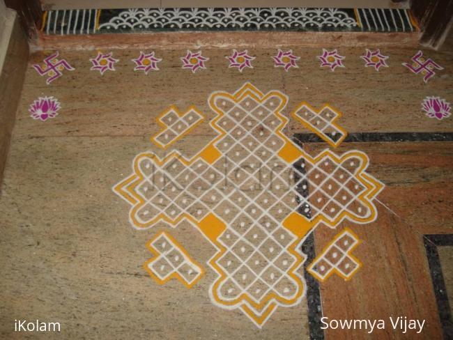 Rangoli: Margazhi Kolam-13