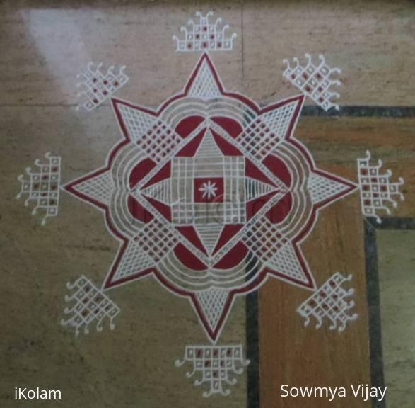 Rangoli: Padikolam for friday