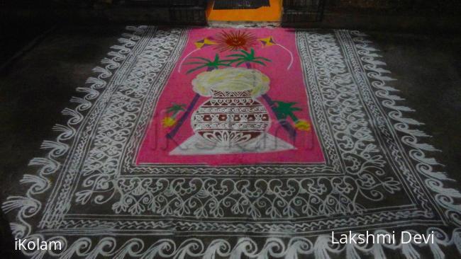 Rangoli: pongal special Rangoli