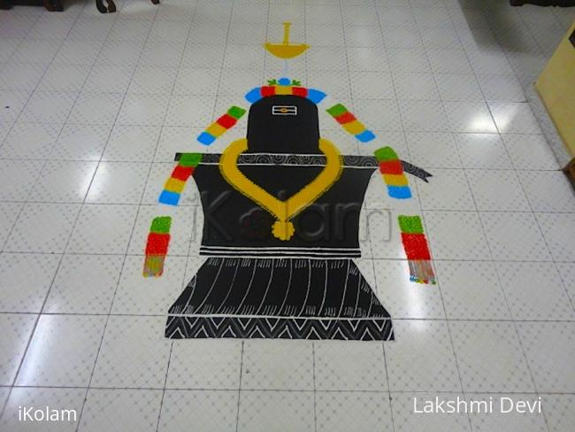 Rangoli: Maha shivaratri rangoli