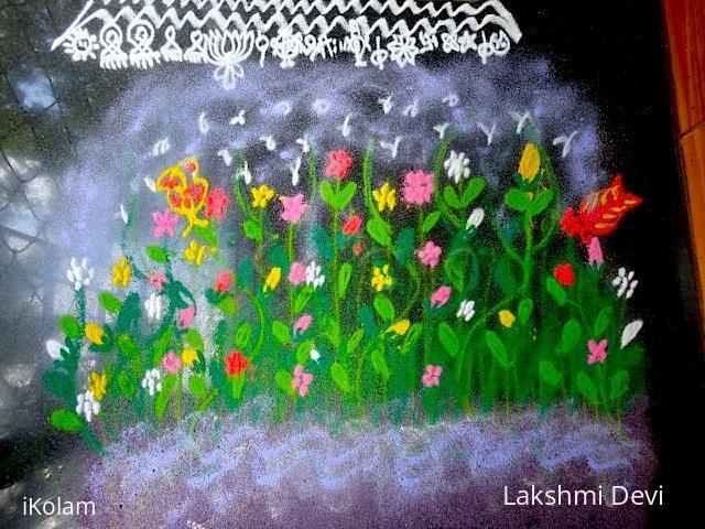 Rangoli: garden