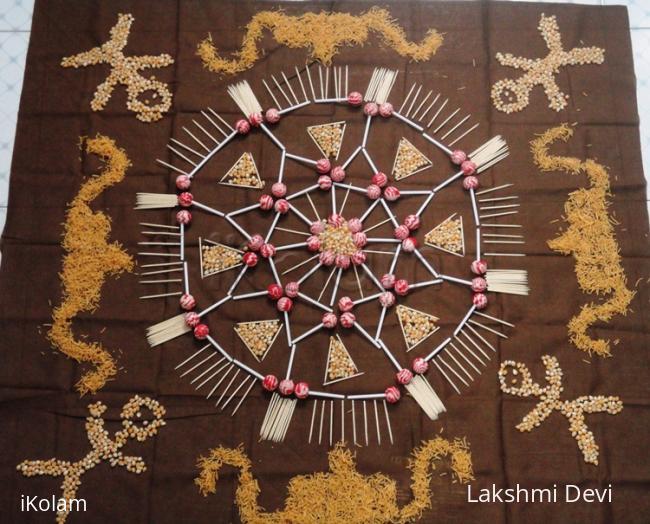 Rangoli: Happy stick day !