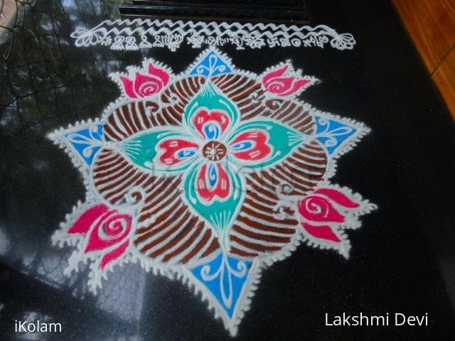Rangoli: Margazhi thalam