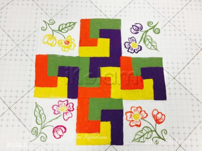 Rangoli: Happy national puzzle day