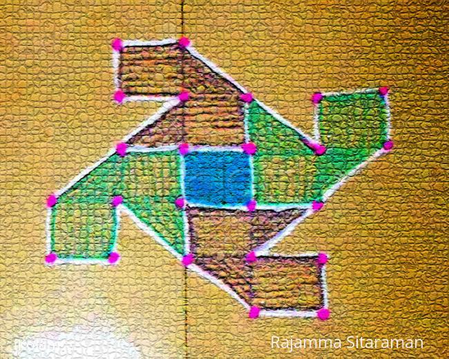 Rangoli: Jaya's puzzle solution