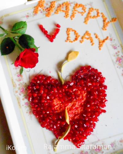 Rangoli: Happy Valentines Day !