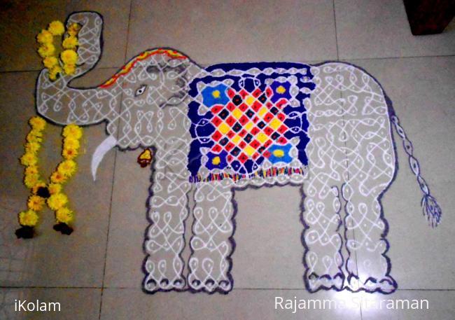 Rangoli: Pattathu  Yaanai